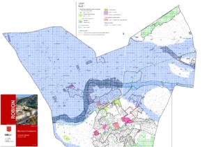 Modification du PLU n°1 - Carte des zonages - Extrait n°1