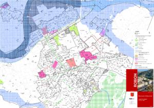 Modification du PLU n°1 - Carte des zonages - Extrait n°3